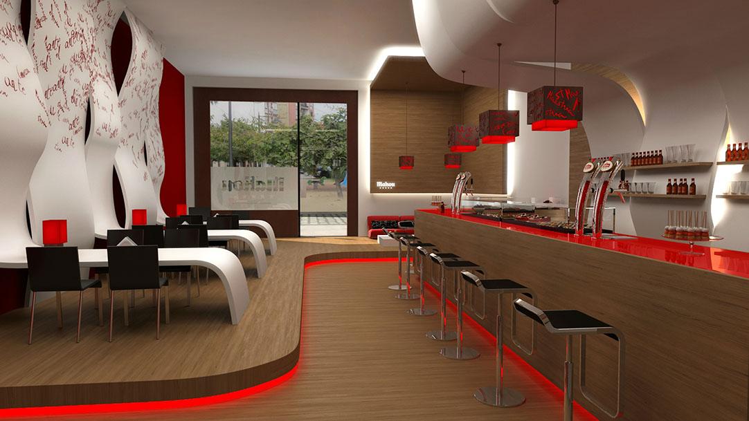 Increíble Decoración Interiores Bares Composición - Ideas de ...